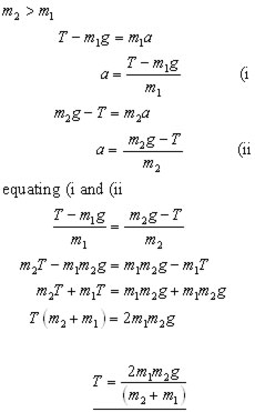 pulley equation #2 (http://www.a-levelmathstutor.com/images/kinetics/connected-pulley-eq2.jpg)