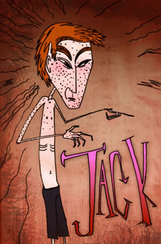 Jack is tall, thin and bony. (http://www.bbc.co.uk/schools/gcsebitesize/english_literature/images/lotf_small_14.jpg)