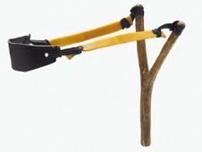 catapult stores elastic energy (http://www.bbc.co.uk/schools/gcsebitesize/science/images/energy_elastic.jpg)