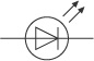Circuit symbol for LED (http://www.bbc.co.uk/schools/gcsebitesize/science/images/add_aqa_phy_circuit_symbol_LED.jpg)