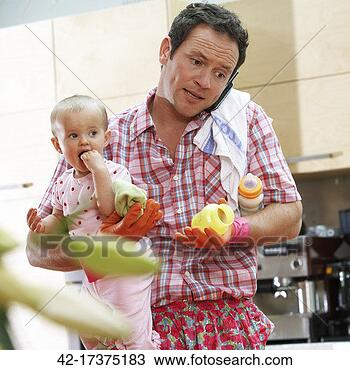 (http://comps.fotosearch.com/comp/corbis/DGT090/househusband-baby-multi-tasking_~42-17375183.jpg)