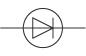 Circuit symbol for diode (http://www.bbc.co.uk/staticarchive/6c3cb1ca60e1ce9ac36dc0e13112be1f48085176.jpg)