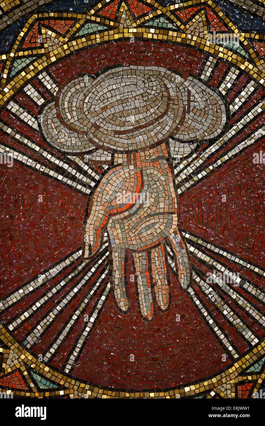 See the source image (http://c8.alamy.com/comp/E8JWW1/st-barths-church-god-the-creator-by-hildreth-meiere-E8JWW1.jpg)