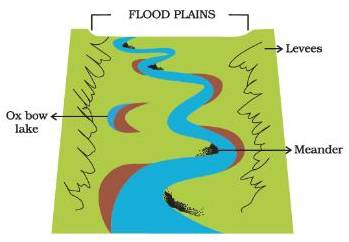 Image result for floodplain (http://images.topperlearning.com/topper/question_uploads/CBSE_GeoVII_3_OurChang_SAQ_files/20140602182527_image002.jpg)