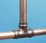 copper pipes (http://www.bbc.co.uk/schools/gcsebitesize/science/images/edex_copper.jpg)