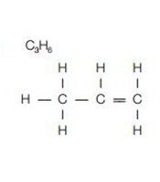 unsaturated hydrocarbon molecules (http://static.aqa.org.uk/assets/image/0006/43494/hydocarbons2.jpg)