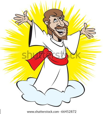 (http://image.shutterstock.com/display_pic_with_logo/80859/80859,1291399064,5/stock-vector-cartoon-art-of-jesus-returning-on-a-cloud-66452872.jpg)