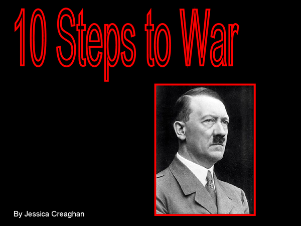Preview of 10 Steps to War - Nazi Germany