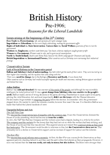 Preview of 1906 Liberal Landslide AQA British History