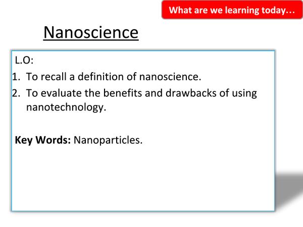 Preview of 2.6 Nanoscience
