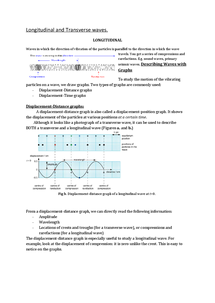 Preview of (2)Longitudinal and Transverse waves