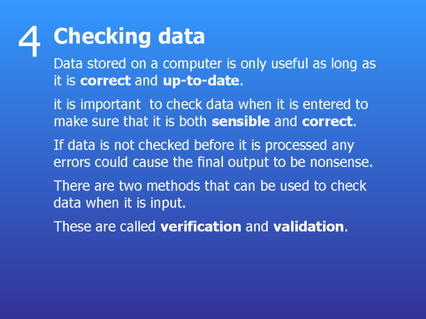 Preview of 4 - Checking Data