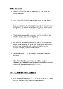 Preview of 5th March 1933 Election