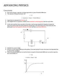Preview of A2 OCR B Capacitors