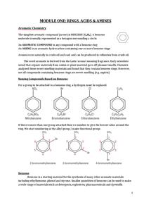 Preview of A2 OCR Chemistry - Unit One - Modules 1-3