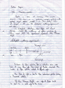 Preview of A2 Particle Physics Handwritten revision notes