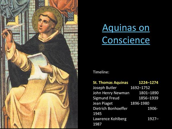 Preview of A2 Religious Ethics (OCR) - Aquinas on Conscience
