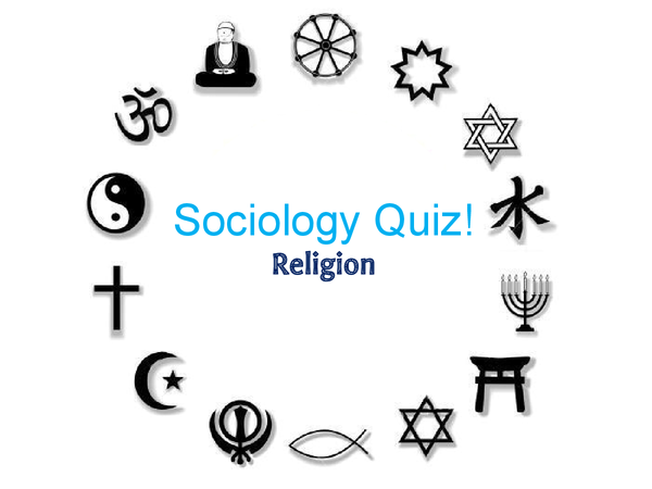 Preview of A2 Sociology Quiz- Beliefs in society