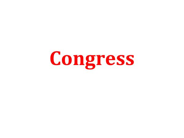 Preview of A2, Unit 4C - Congress