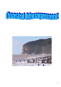 Preview of A2 WJEC Geography - Coastal Management