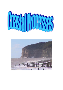 Preview of A2 WJEC Geography - Coastal Processes