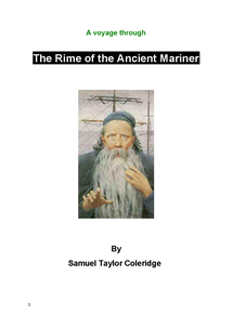 Preview of A Booklet for the Rime of Thee Ancient Mariner/ Question guide booklet.