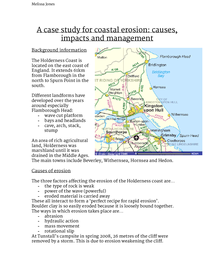 Preview of A Case Study for Coastal Erosion