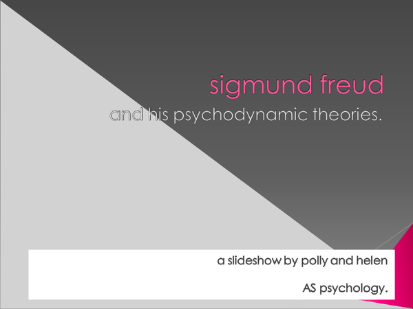Preview of A fun, visual background of Freud
