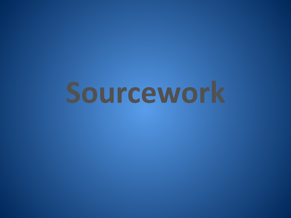 Preview of A Guide to Sourcework