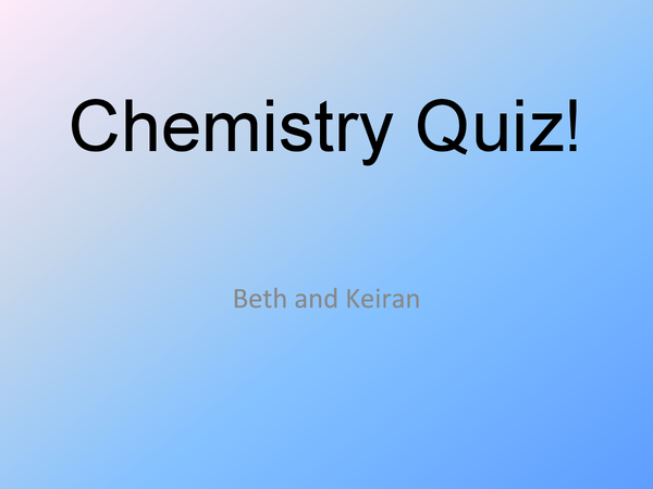 Preview of A short quiz on polymers