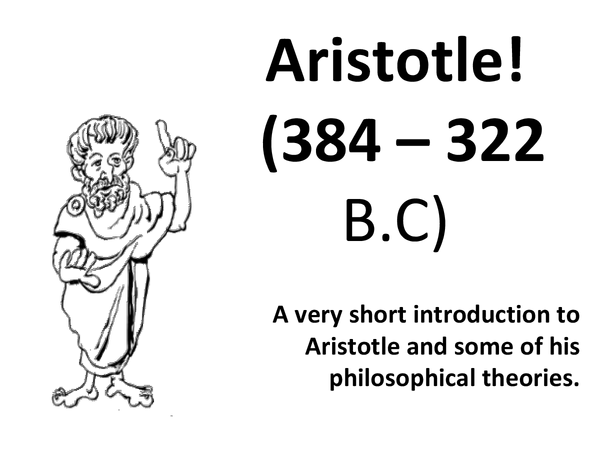 Preview of A Very Short Introduction to Aristotle