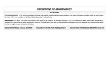 Preview of ABNORMALITY - PSYA2