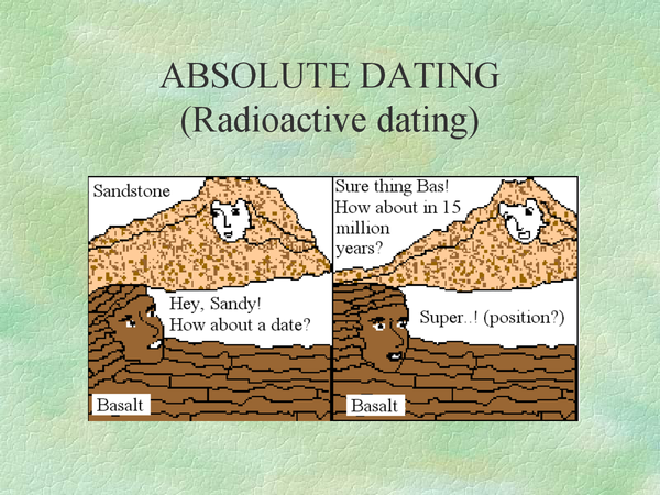 Preview of ABSOLUTE DATING (Radioactive dating)