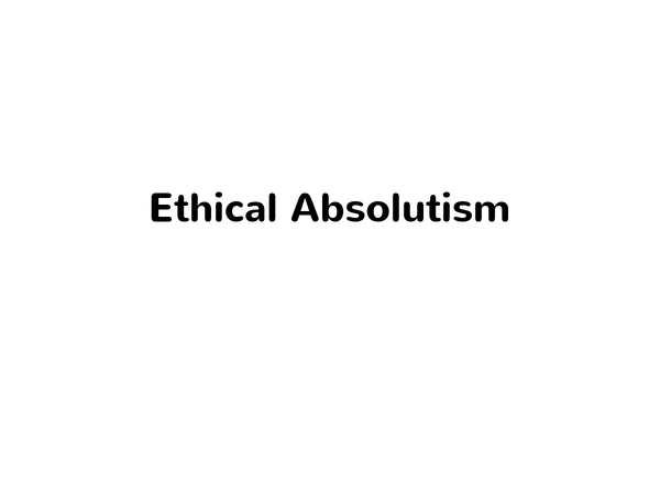 Preview of Absolutism