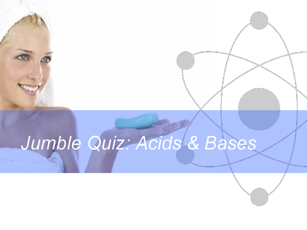 Preview of acids and bases quiz