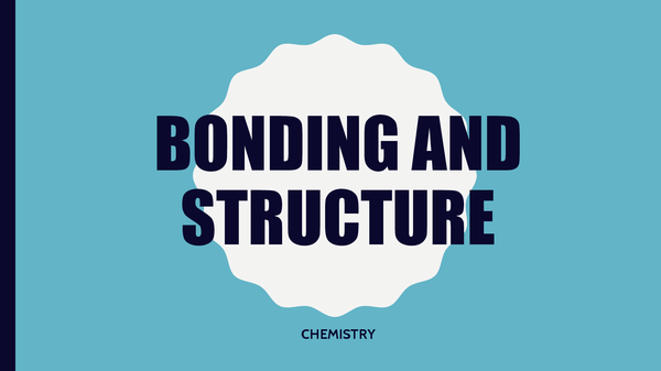 Preview of Additional Science (C2) - Structure and Bonding Revison