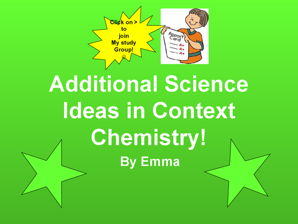 Preview of Additional Science - IDEAS IN CONTEXT BIOLOGY