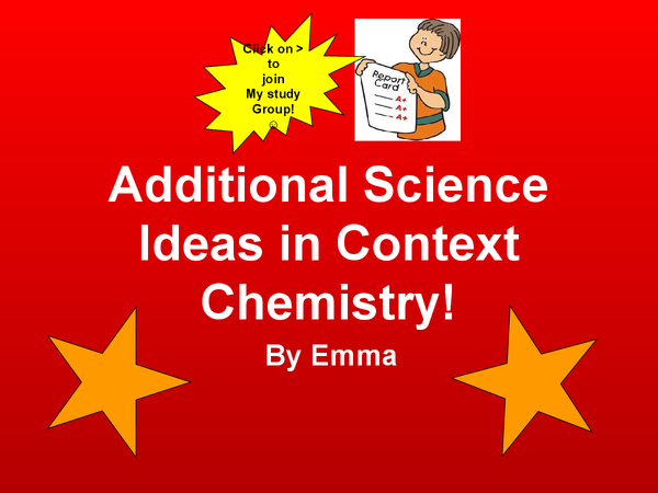 Preview of Additional Science - IDEAS IN CONTEXT PHYSICS!!