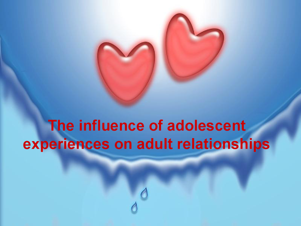 Preview of Adolescent experiences and their effects on later adult relationships