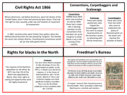 civil rights in the period 1865 1992 essay During the years from 1865 to 1992, many groups and individuals worked as part of the civil rights movement need essay sample on how united was the civil.