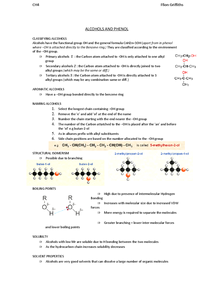 Preview of ALCOHOLS AND PHENOL