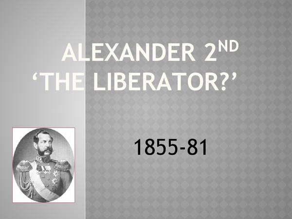 Preview of Alexander II