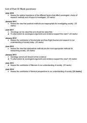 aqa economics past papers jan 2010