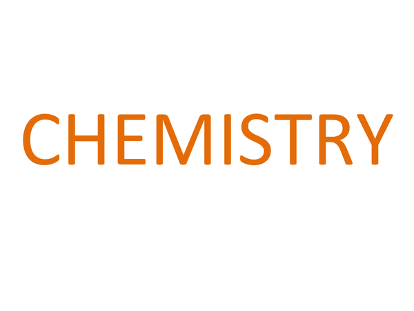 Preview of All of Chemistry unit 1 Core Science in one place