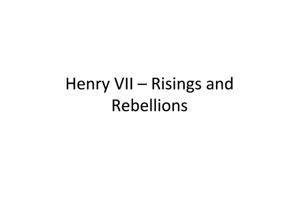 Preview of All of Henry VII