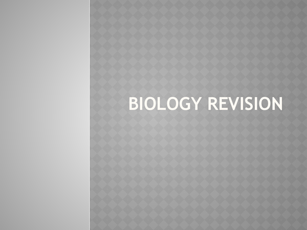Preview of All of the biology units! Foundation