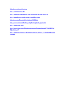 Preview of ALL SUBJECTS - Revision Websites