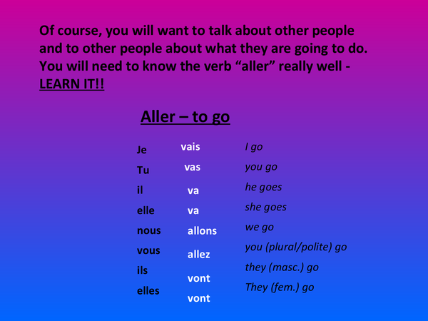 Preview of 'Aller'
