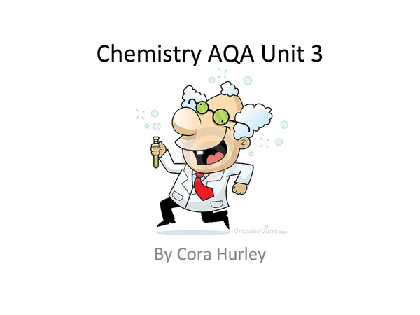 Preview of Amazing Chemistry Notes