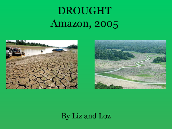 Preview of Amazon Drought 2005